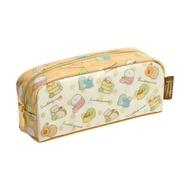 【真愛日本】18031700008 拉鍊筆袋-角落甜點黃 san-x 角落公仔 角落生物 筆袋 鉛筆盒 化妝包