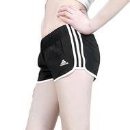KUMO SHOES Adidas Women Slim 三線 短褲 黑白 運動 女 4吋 2吋 CE2014