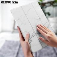 ESR เคส iPad Air 3 Marble Case for iPad Mini 5 2019/ iPad Air 2019/iPad Pro 11  Lightweight Stand Smart Case Microfiber Lining Hard Back Cover Compatible with iPad Mini 5/Air 3/ iPad Pro 11