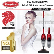 Europace ESV 1600S 600W 2-in-1 Stick Vacuum Cleaner