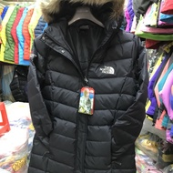 The North Face 女版秋冬長版 羽絨外套