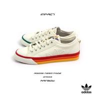 Adidas Nizza Pride Shoes White 白 彩虹 小白鞋 男女 三葉草 EF2319 IMPACT