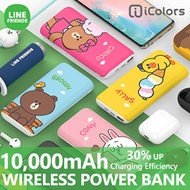 LINE FRIENDS Wireless Power Bank 10000mAh★Fast Charging/ iPhone 11/Pro/Max/Galaxy S20/S10/Note 10/9