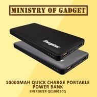 Energizer UE10015CQ 10000mAh Quick Charge Portable Power Bank
