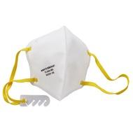 淨舒式醫用N95折疊口罩 白色【D1FM7319】
