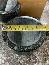 ครกหินอ่างศิลา หินแกรนิตแท้ แบบขัดมันขนาด 5 นิ้ว ราคา 248 บาท ครกคุณภาพยอดนิยม