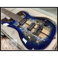 【苗聲樂器Ibanez旗艦店】Ibanez Premium S1027PBF-CLB 藍色七弦無搖電吉他