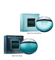 Bvlgari Pour Homme and Pour Homme Marine 100ml