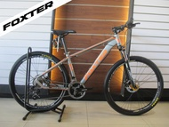 FOXTER POWELL 1.1 2019 29er AUTHENTIC Mountain Bike MTB Silver Grey