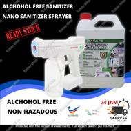 【 MCO3.0 Offer 】Spray Gun Alcohol Sprayer Blue Light Steam Atomizing Fogger Sterilization Disinfection Gun#Spray Machine for Home/Industrial/Car/Office Use