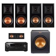 美國Klipsch PR-600m+RP-400m+RP-500c+R-10SWi+LX-104 (5.1聲道喇叭組 / 歡迎預約現場試聽)