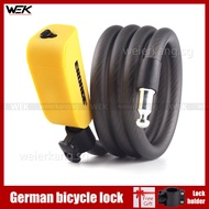 Germany EROADE bicycle lock electric bicycle cable lock Portable anti-theft lock Chain lock Bicycle accessories lock