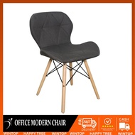 Wintop Accent Fabric Chair Wood Leg Chair For Office Chair Dining Chair Accent Chair Study Chair