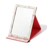 鏡子/化妝鏡 花卉折疊鏡 大 粉紅色 Francfranc 日本必買