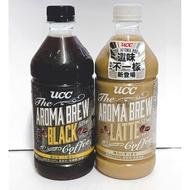 代購 UCC 艾洛瑪 黑咖啡 拿鐵 一箱24入 525ml  瓶裝 限買一箱 限宅配(UCC艾洛瑪黑咖啡限買一箱)
