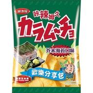 卡辣姆久平切洋芋片-芥末海苔100【愛買】