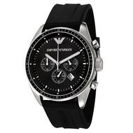 ARMANI AR0527 三眼計時 運動時尚 矽膠錶帶 錶現精品 原廠正品