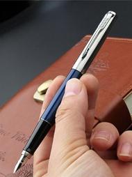 鋼筆 鋼筆專柜parker店喬特皇家藍鋼桿金鋼筆學生用成人男女練字商務辦公 晶彩生活