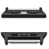 Luxuryอะแดปเตอร์โลหะClaspสำหรับApple Watch Band 44มม.40มม.SE 6 5 Series 4 3 2 1อุปกรณ์เสริม42มม.38มม.สายคล้องคอ
