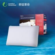 America Import Comfort Revolution Wave-shaped Memory Foam Pillow Neck Guard Pillow Space Memory Foam Pillow