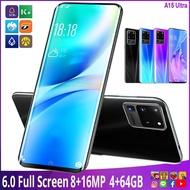สมาร์ทโฟนรุ่นใหม่ AOVA A15 Ultra จอ 6 นิ้ว Ram 4 Rom 64 Gb ประกันศูนย์ไทย 1 ปีเต็ม