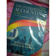 Books for sale INTERMEDIATE ACCOUNTING 3 ROBLES