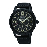 SEIKO PRESAGE AUTOMATIC SSA339J1 LEATHER BLACK MENS WATCH