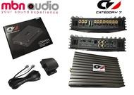 CATEGORY 7 CSA90.4 4Channel Class AB Power Amplifier 90Wrms x 4, Car Audio Power Amplifier