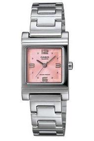 Casio Standard นาฬิกาผู้หญิง สีเงิน สายสแตนเลส รุ่น LTP-1237D-4ADF