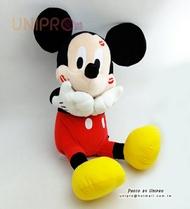【UNIPRO】日貨 迪士尼正版 唇印 KISS 米奇 絨毛娃娃 玩偶 禮物 布偶 情人節禮物 日本景品