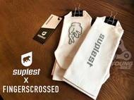 巡揚單車-瑞士時尚SUPLEST x FINGERSCROSSED聯名限定設計襪子極白灰 自行車單車卡鞋輕薄襪透氣