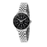 MASERATI 瑪莎拉蒂 SUCCESSO LADY 光動能經典質感腕錶32mm(R8853145506)