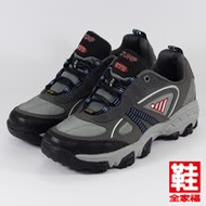 (男) JUMP 防潑水戶外運動鞋 深灰 將門 鞋全家福