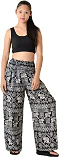 Orient Trail Women's Aztec Tribal Design Yoga Wide Leg Harem Pants US Size 0-22