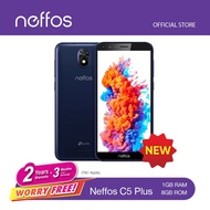 {READY STOCk} NEFFOS C5PLUS (5.34' / ANDROID GO EDITION)2 YEARS NEFFOS MALAYSIA