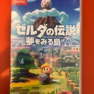 薩爾達傳說 織夢島 switch遊戲片