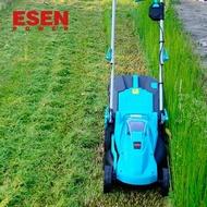ESEN充電式手推電動割草機電動家用除草機鋰電草坪割草機剪草機 mks小宅女 母親節禮物