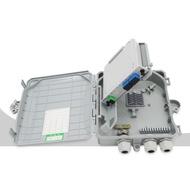 FTTH Optical Splitter Fiber Splitter Box 1 to 8 Box Optical Splitter 8 core