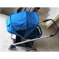 Nuna mixx嬰兒手推車 (藍色/戰車/好推)
