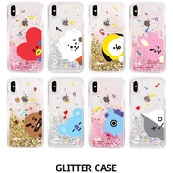 BTS BT21 Official Product Glitter Case for iPhone