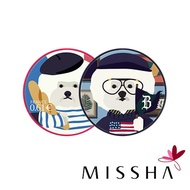 MISSHA × Beyond Closet 限量聯名款 超萌狗狗 保濕 / 遮瑕 氣墊粉餅 14g BB氣墊粉餅