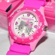 日本製 Hello Kitty CITIZEN 星辰錶 粉色 氣壓防水指針式手錶 日本限定 附精美禮盒
