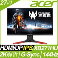 acer Predator XB271HU電競螢幕