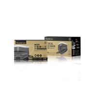 6入,鉅瑋醫療 口罩(未滅菌),50片/盒,夜幕黑,黑色成人口罩,通過重金屬及偶氮色料檢驗
