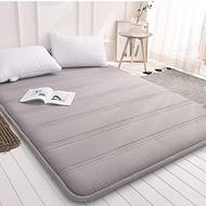 Yellow star Foldable queen size mattress,Tatami floor mat portable sleeping pad dorm futon mattre...