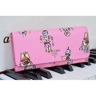 全新真品 PRADA wallet 粉紅色 機器人 附卡片夾 前釦 長夾 1MH132 現貨