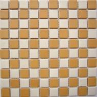 【便宜之家】磁化高級馬賽克磁磚 藝術磁磚地磚壁磚轉角磚腰帶2.35x2.35cm 編號TME5183