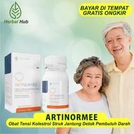 ARTINORMEE Obat Penurun Tekanan Darah Tinggi HIPERTENSI isi 30 kapsul herbal alami