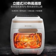 台灣現貨~出貨測試~保固一年~比依 空氣烤箱 AF-602A 11L大容量 3D 立體氣流 304 不銹鋼 配件 多功能