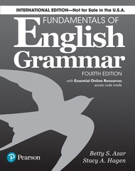 Fundamentals of English Grammar 4e Student Book with Essential Online Resources International Edition 4e 9780134661148